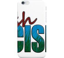 Rush Decision Blue Sky Grass iPhone Case/Skin