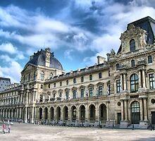 Paris - The Louvre Palace by jean-louis bouzou
