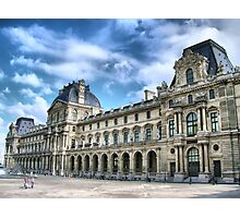 Paris - The Louvre Palace Photographic Print