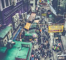 Hong Kong Street by Shari Mattox