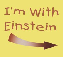 I'm With Einstein One Piece - Short Sleeve