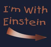 I'm With Einstein Kids Tee