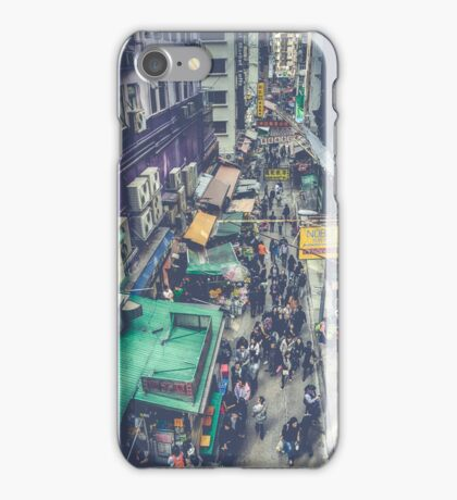 Hong Kong Street iPhone Case/Skin