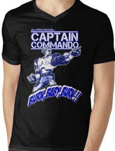 The Captain 02 Mens V-Neck T-Shirt