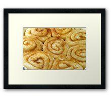 Sweets 4 Bakery Framed Print
