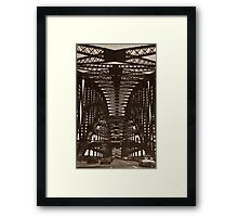 Iron Lady Framed Print