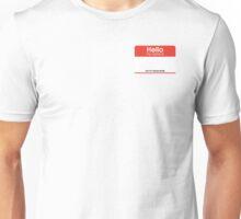 Bachao Buddy Name Tag Unisex T-Shirt