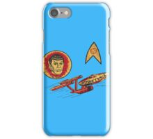 Spock Star Trek Costume from 1975 (yes, really) iPhone Case/Skin