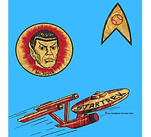 Spock Star Trek Costume from 1975 (yes, really) Photographic Print
