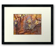 Colours of Uluru Framed Print