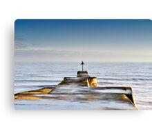 Sea Defence Canvas Print