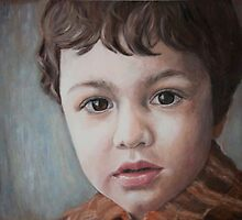 Portrait Commission Andrei by Magda Vacariu