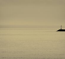 Sea Defence Triptych - 001b by Lea Valley Photographic