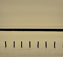 Sea Defence Triptych - 003 by Lea Valley Photographic