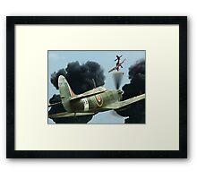 Stuka Attack ! Framed Print