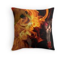 as yet untitled Throw Pillow
