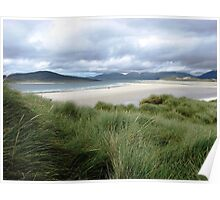 Beach on the Isle of Harris, Hebrides, Scotland Poster