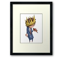 Prince of the Pencil Framed Print