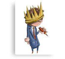 Prince of the Pencil Canvas Print
