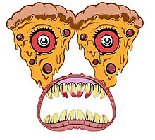 Pizza Monster! Photographic Print