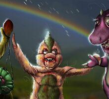 Barney & Friends by nogland