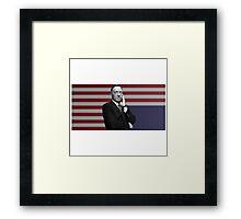 Frank Flag Framed Print