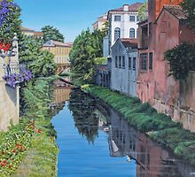 Padua Canal by Freda Surgenor