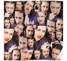 Miranda Sings' Face Poster