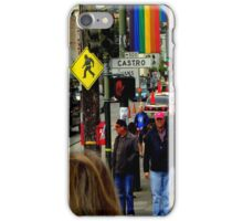 Red Light Castro District iPhone Case/Skin
