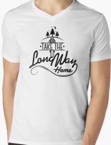 TAKE THE LONG WAY HOME Mens V-Neck T-Shirt