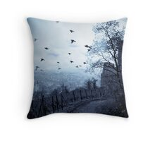 Storm's Rush Throw Pillow