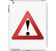 Red alert! iPad Case/Skin