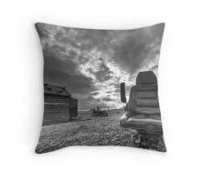 The levels of decay Throw Pillow