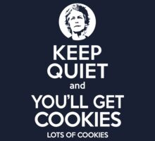 Keep Quiet, and You'll Get Cookies. Lots of cookies. Kids Clothes