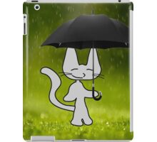 Cat In The Rain iPad Case/Skin