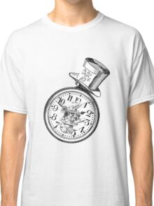 Alice in Wonderland Ticking tock Classic T-Shirt