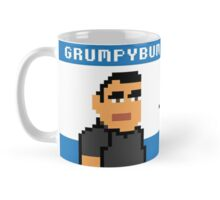 8Bit Grumpybum Mug - Blue Mug