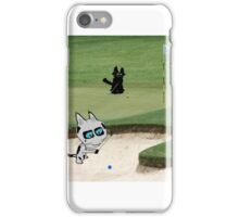 Cats Playing Golf iPhone Case/Skin