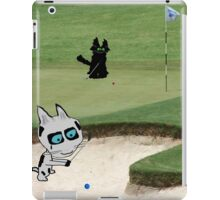 Cats Playing Golf iPad Case/Skin