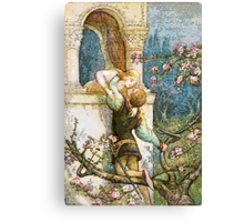 ROMEO AND JULIET VINTAGE Canvas Print