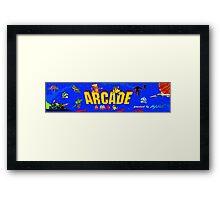 ARCADE! Framed Print