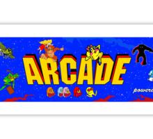ARCADE! Sticker