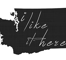 I Like it Here Washington by surgedesigns
