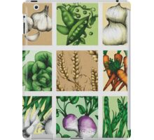 Farmers Medley - Vegetables iPad Case/Skin