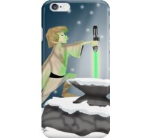 The Saber In The Stone iPhone Case/Skin