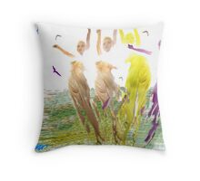 Maids of the Mist Throw Pillow