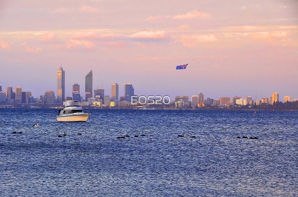 Perth City - Australia Day  by EOS20