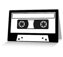 Cassette tape! Greeting Card