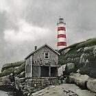 Abandoned - The Sambro Island Lighthouse by Atlantic Dreams