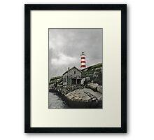 Abandoned - The Sambro Island Lighthouse Framed Print